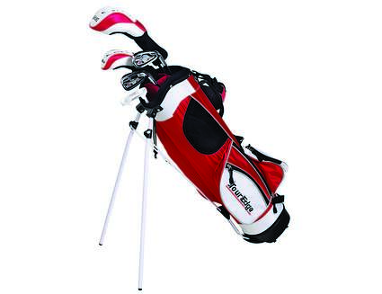 Tour Edge HT Max-J Red 9-12 Year Old 4x1 Complete Junior Set