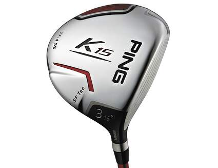 Ping K15 Fairway Wood 3 Wood 3W 16* Ping TFC 149F Graphite Regular Left Handed 42.5 in