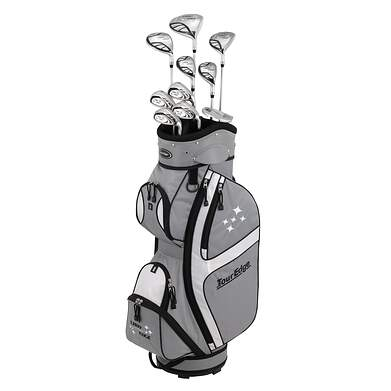 Tour Edge Lady Edge 18 Full Complete Golf Club Set