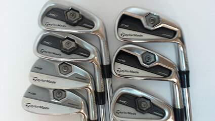 TaylorMade 2011 Tour Preferred MC Iron Set 4-PW True Temper Dynamic Gold S300 Steel Stiff Right Handed 38 in