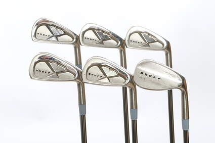 Onoff CB-358 Iron Set 5-PW UST Recoil Prototype 110 F4 Graphite Stiff Right Handed