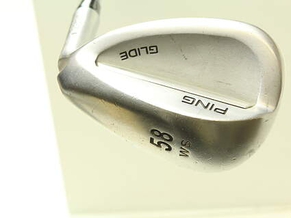 Ping Glide Wedge Lob LW 58* Wide Sole Ping CFS Steel Wedge Flex Right Handed Black Dot 35.25 in