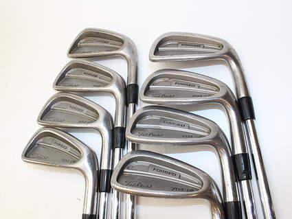 Titleist 704.CB Iron Set 3-PW True Temper Dynamic Gold S300 Steel Stiff Right Handed 37.75 in