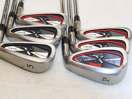 Tour Edge Exotics XCG3 Iron Set 5-PW Nippon NS Pro 950GH Steel Stiff Right Handed 37.5 in