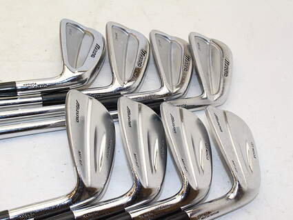 Mizuno MP 67 and 62 Mix Iron Set 3-9 Iron Project X 6.5 Steel X-Stiff Right Handed 37.75 in