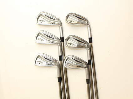 Callaway Apex Pro Iron Set 5-PW UST Mamiya Recoil 110 F4 Graphite Stiff Right Handed 38 in