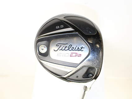 Titleist 910 D2 Driver 9.5* Aldila RIP Alpha 60 Graphite Stiff Right Handed 45 in