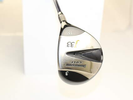 Bridgestone J33 Fairway Wood 3 Wood 3W 15* Accra DyMatch 2.0 MT 70 Graphite Stiff Right Handed 43 in