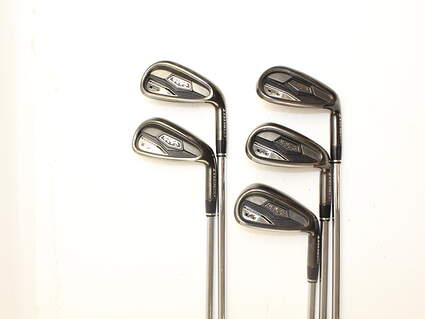 Adams Idea Tech V4 Forged Iron Set 6-PW True Temper Performance 75 Steel Regular Right Handed 38.5 in