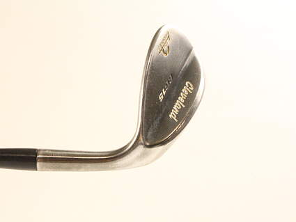 Tour Issue Cleveland CG15 Black Pearl Wedge Sand SW 56* 14 Deg Bounce Stock Steel Shaft Steel Right Handed 75.5 in