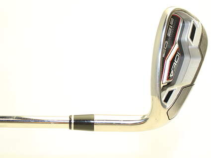 Adams Idea A12 OS Wedge Gap GW Stock Steel Shaft Steel Regular Right Handed 35.75 in