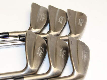 Titleist 690 MB Forged Iron Set 5-PW True Temper Dynamic Gold Steel Stiff Right Handed 38 in