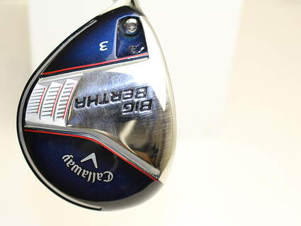 Callaway 2014 Big Bertha Fairway Wood 3 Wood 3W 15* Mitsubishi Fubuki Z 65 Graphite Stiff Left Handed 43 in