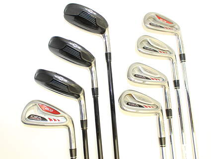 Adams Idea A3 Iron Set 3H 4H 5H 6-PW Stock Steel Shaft Steel Regular Right Handed 38.25 in