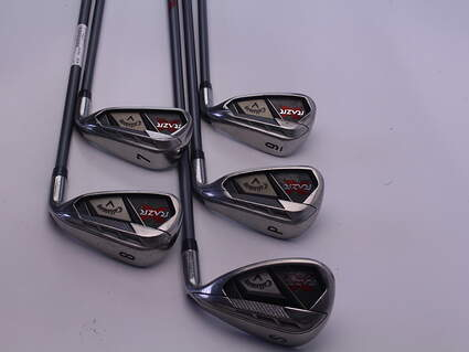Callaway Razr X Iron Set 7-SW Callaway Razr X Iron Graphite Graphite Ladies Right Handed 35.75 in