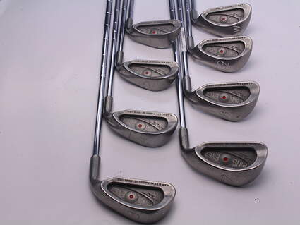 Ping Eye 2 Iron Set 3-PW Stock Steel Shaft Steel Regular Right Handed 38.25 in