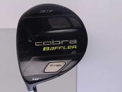 Cobra Baffler T Rail Fairway Wood 3 Wood 3W 16* Cobra Tour AD Baffler Graphite Stiff Left Handed 43 in