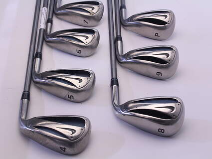 Nike Slingshot Iron Set 4-PW UST Competition 65 SeriesLight Graphite Ladies Right Handed 37.75 in