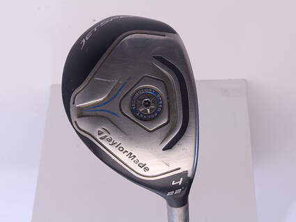 TaylorMade Jetspeed Hybrid 4 Hybrid 22* TM Matrix VeloxT 45 Graphite Ladies Right Handed 39.25 in