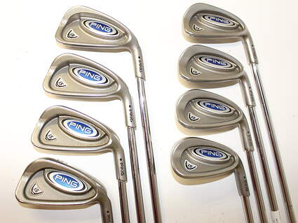 Ping i5 Iron Set 3-PW True Temper Dynamic Gold S300 Steel Stiff Right Handed Black Dot 38.5 in