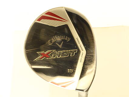 Callaway 2013 X Hot Pro Fairway Wood 3 Wood 3W 15* Project X PXv Graphite Stiff Right Handed 43 in