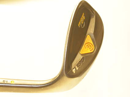 Cleveland CG14 Gunmetal Wedge Lob LW 58* 10 Deg Bounce Stock Steel Shaft Steel Wedge Flex Right Handed 35.5 in