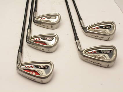 Adams Idea A3 Iron Set 6-PW Grafalloy ProLaunch Red Graphite Regular Right Handed 37.75 in