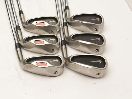 Nike CPR 2 Iron Set 5-PW Stock Steel Shaft Steel Uniflex Right Handed 38 in