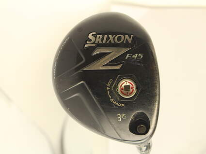 Srixon Z F45 Fairway Wood 3 Wood 3W 15* Stock Graphite Shaft Graphite Stiff Right Handed 43 in