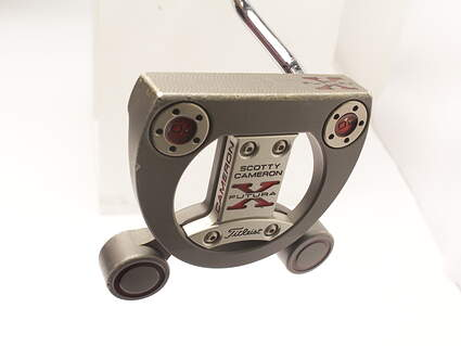 Titleist Scotty Cameron Futura X Putter Face Balanced Stock Steel Shaft Steel Right Handed 34 in