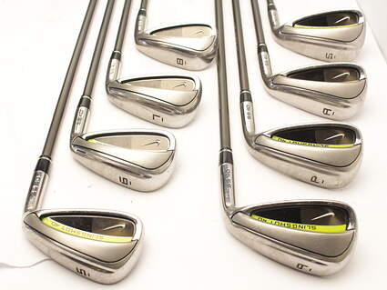 Nike Slingshot 4D Iron Set 5-PW GW SW Stock Graphite Shaft Graphite Ladies Right Handed 37 in