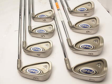Ping i5 Iron Set 3-PW Ping ZZ Lite Steel Right Handed White Dot 38.5 in