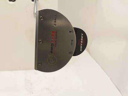 Odyssey Protype Tour 2-Ball Putter Steel Right Handed 32 in