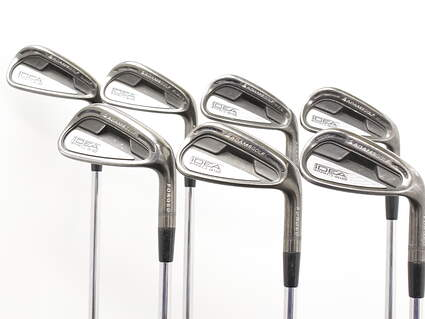 Adams Idea Pro A12 Iron Set 4-PW FST KBS Tour 90 Steel Stiff Right Handed 38 in
