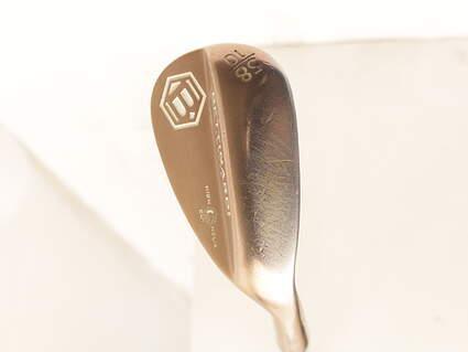 Bettinardi H2 Cashmere Bronze Wedge Lob LW 58* 10 Deg Bounce KBS Tour 130 Steel Wedge Flex Right Handed 36 in
