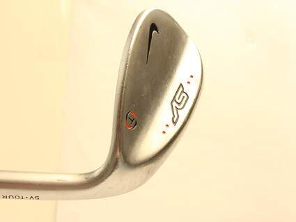 Nike SV Tour Chrome Wedge Gap GW 52* 10 Deg Bounce Stock Steel Shaft Steel Stiff Right Handed 35.5 in