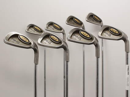Ping i3 Oversize Iron Set 3-PW True Temper Dynamic Steel Stiff Right Handed Blue Dot 37.0in