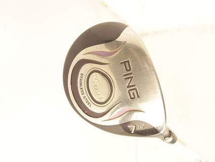 Ping Rhapsody Fairway Wood 7 Wood 7W 26° Ping ULT 129F Ladies Graphite Ladies Right Handed 41.0in