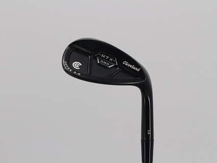Cleveland 588 RTX 2.0 Black Satin Wedge Sand SW 56° True Temper Dynamic Gold Steel Wedge Flex Right Handed 37.25in