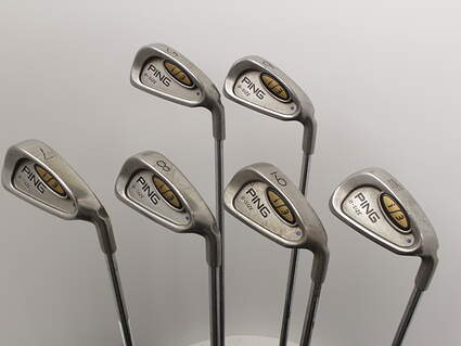 Ping i3 Oversize Iron Set 5-PW Ping AWT Steel Regular Right Handed Blue Dot 38.0in
