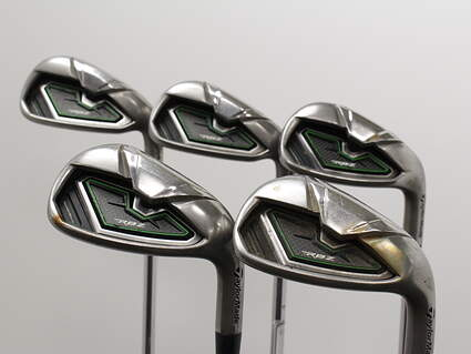 TaylorMade RocketBallz Iron Set 6-PW Stock Steel Shaft Steel Stiff Right Handed 38.0in