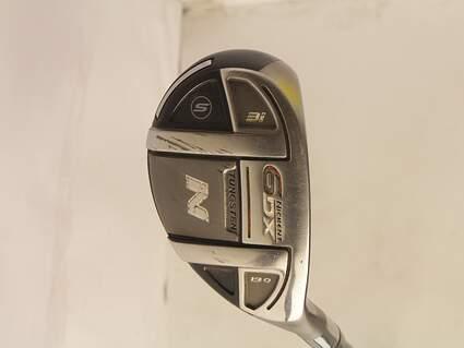 Nickent 6DX 3 Hybrid 19° Stock Graphite Shaft Graphite Stiff Right Handed 40.5in