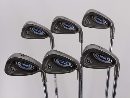 Ping i5 Iron Set 5-PW Stock Steel Shaft Steel Regular Right Handed Black Dot 37.75in