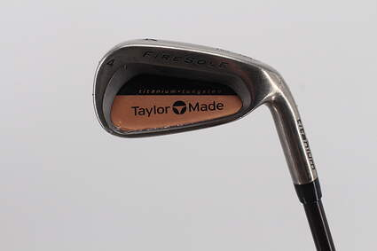 TaylorMade Firesole Single Iron 4 Iron TM Bubble Graphite Senior Right Handed 39.0in