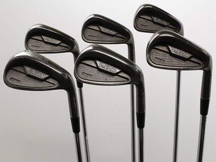 Adams Idea Pro Black CB1 Iron Set 5-PW Project X 6.0 Steel Stiff Right Handed 37.5in
