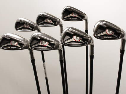 TaylorMade 2009 Burner Iron Set 5-GW TM Reax 65 Graphite Regular Right Handed 38.5in