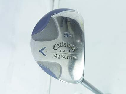 Callaway 2008 Big Bertha Ladies Fairway Wood 5 Wood 5W 18° Callaway Stock Graphite Graphite Ladies Right Handed 41.5in