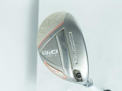Cobra Bio Cell Silver Womens Hybrid 5-6 Hybrid 28° Stock Graphite Shaft Graphite Ladies Right Handed 38.0in
