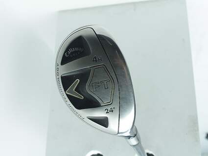 Callaway 2008 FT Hybrid Hybrid 4 Hybrid 24° Callaway Fujikura Fit-On M HYB Graphite Ladies Right Handed 39.5in