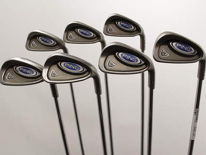 Ping i5 Iron Set 4-PW Stock Steel Shaft Steel Right Handed Blue Dot 37.5in